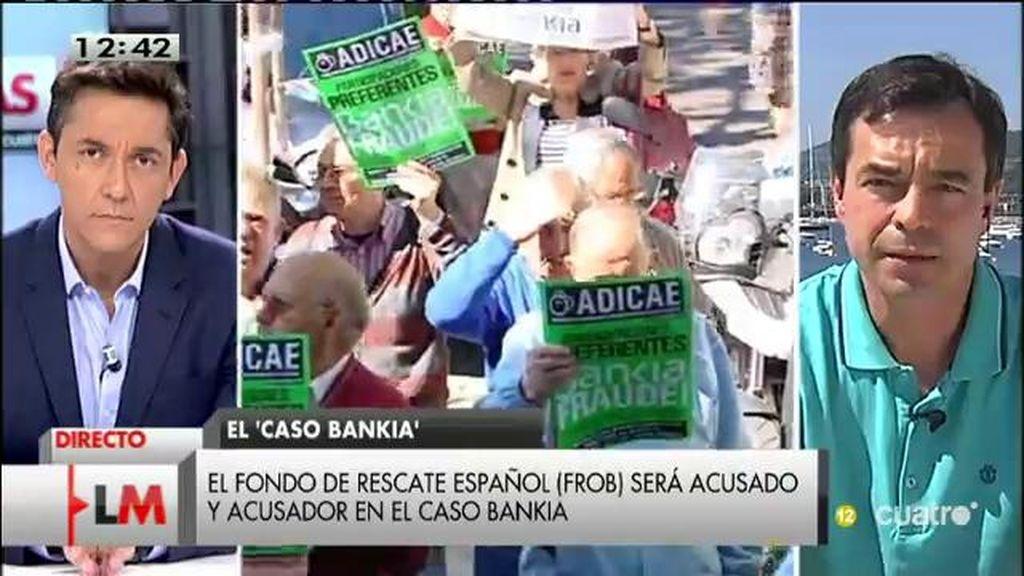 """Herzog: """"El en el caso Bankia, el gobierno está personado para defender a los imputados"""""""