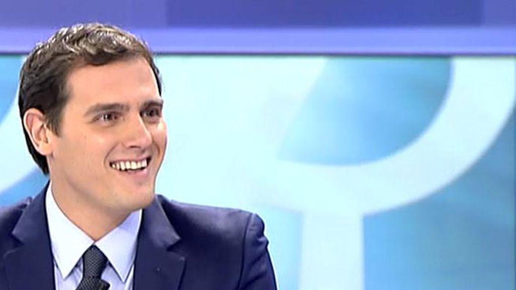 """Albert Rivera: """"En Cataluña hay una batalla política que no se está librando"""""""