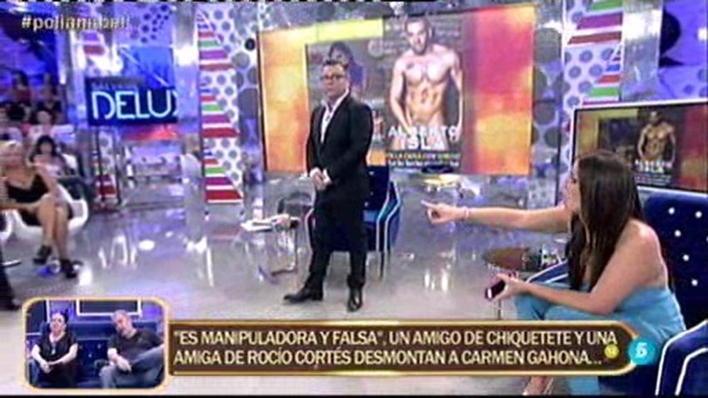 """Anabel Pantoja, sobre Alberto Isla: """"Físicamente, yo me quedo con el de ahora"""""""