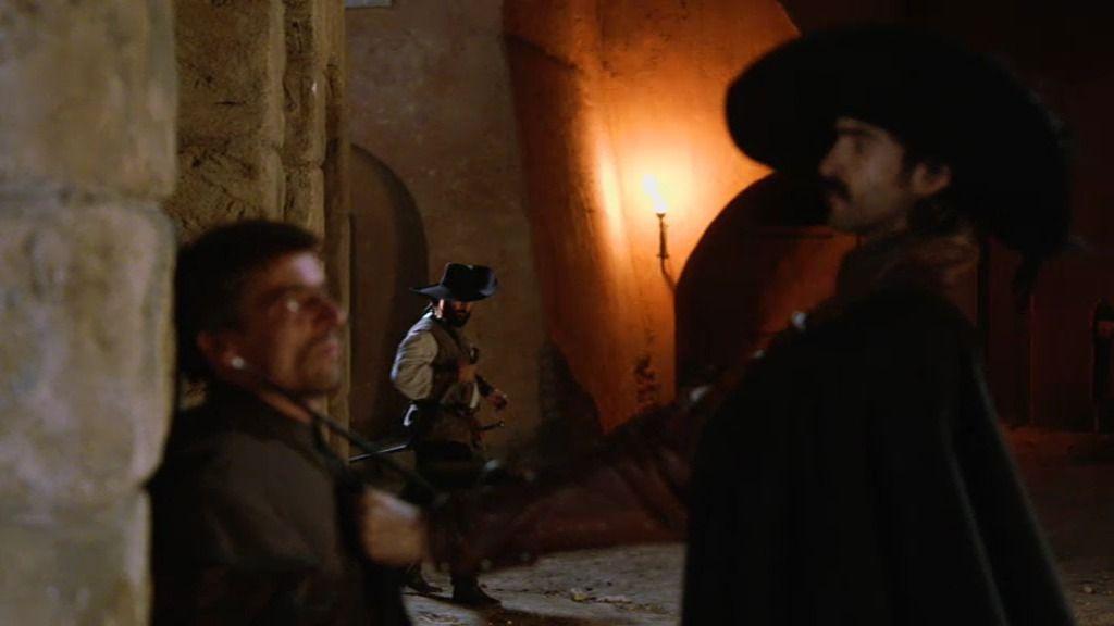 El capitán Alatriste y sus hombres roban un gran cargamento de grano