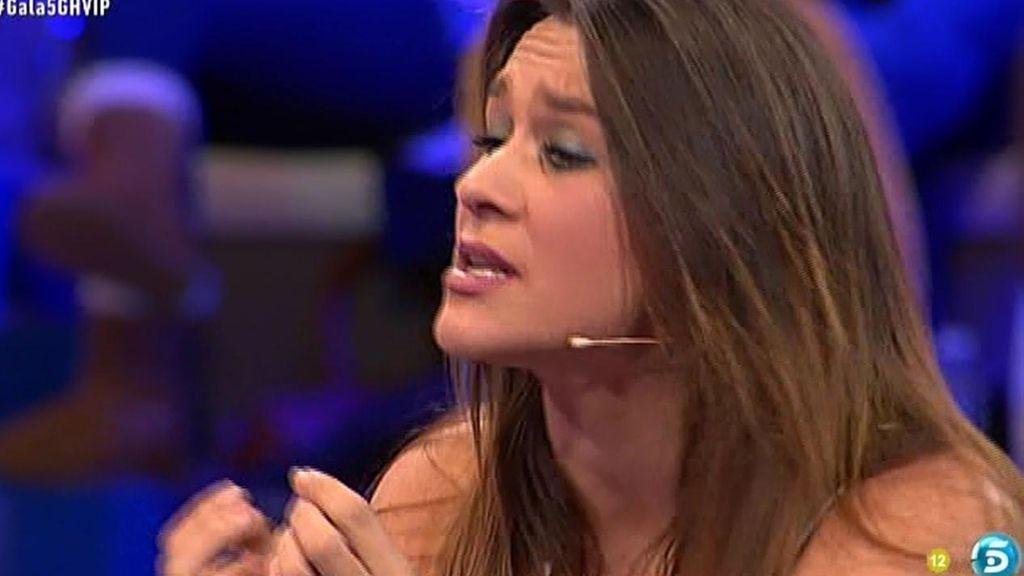 """Laura: """"Ha sido Víctor, a mí no me hacía falta hablar de los Pantoja"""""""