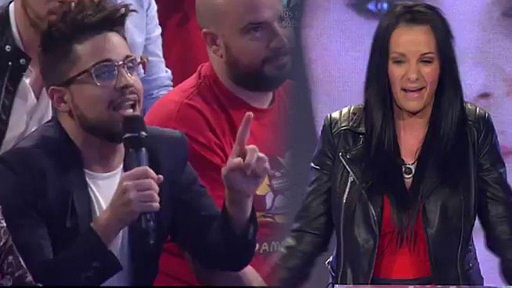 """Laura Campos se enfrenta a Miguel Frigenti en su mitin: """"Estás rencoroso"""""""