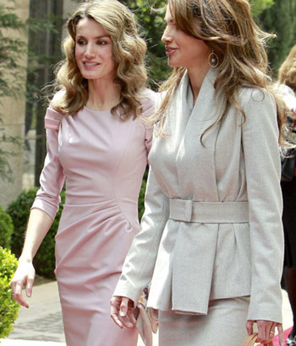 Letizia y Rania