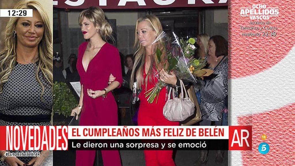 Solo chicas, 800 euros de cena y 300 en copas: así fue el cumpleaños de Belén