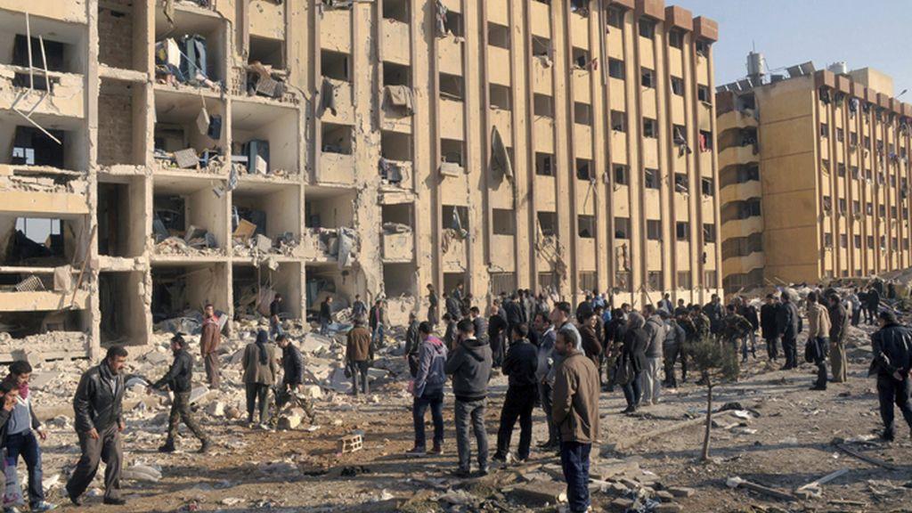 Atentado en Alepo (Siria)