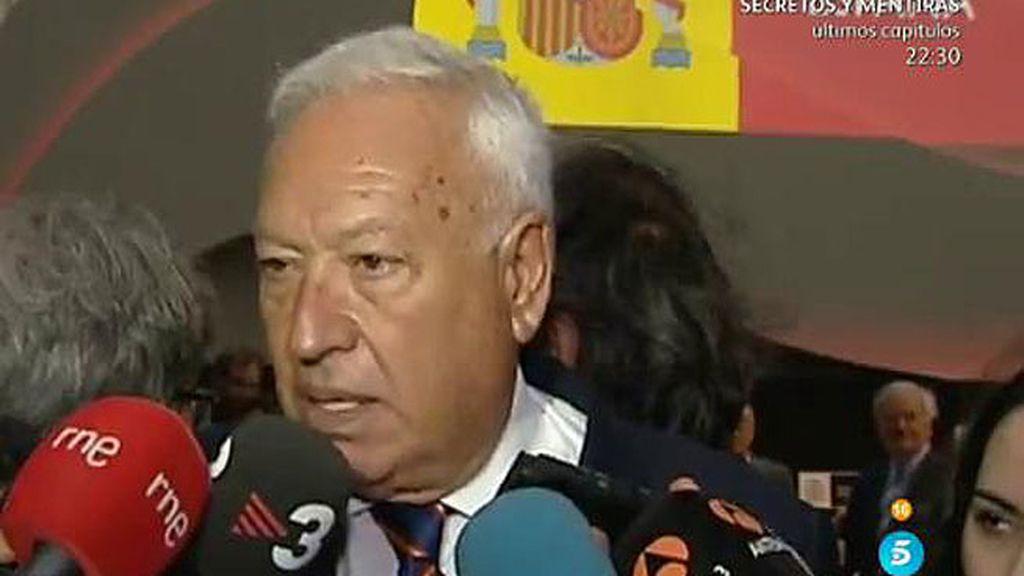 Margallo apoya la marca España en Berlín