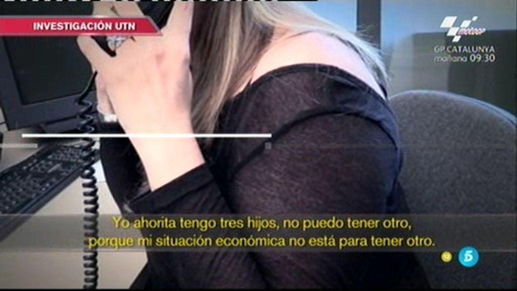 Investigación 'UTN': Una madre está dispuesta a vender a su futuro bebé