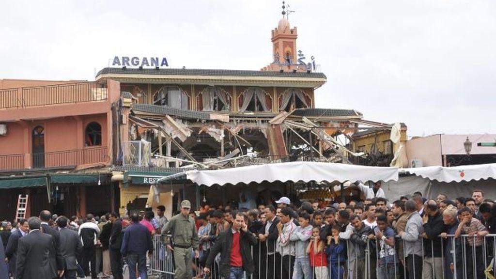 """Explosión """"criminal"""" en Marrakesh"""