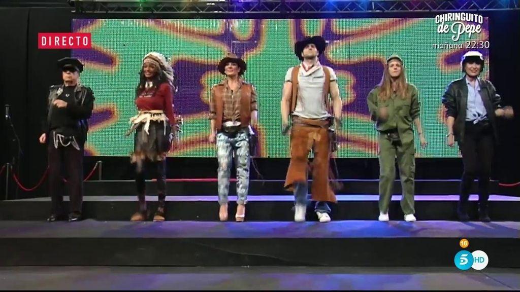Así ha sido la gran actuación de los concursantes en 'VIP Talent'