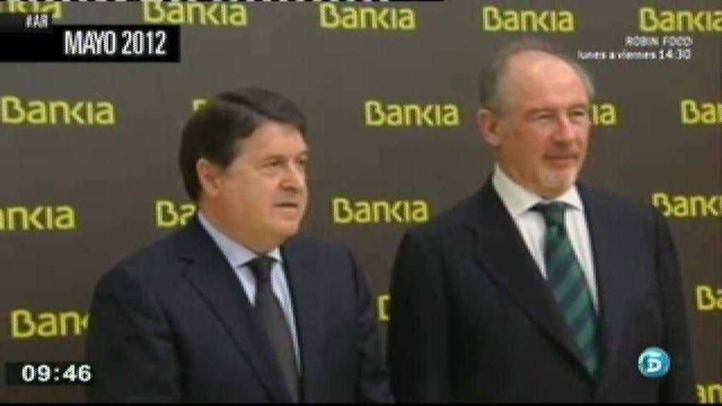 Cinco meses antes del rescate los directivos de Bankia gastaron un millón de euros con las tarjetas
