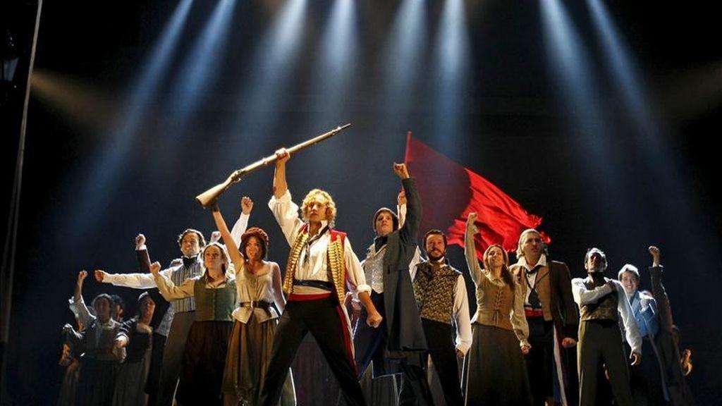 """Pase gráfico de la nueva versión del musical """"Los Miserables"""", del productor Cameron Mackintosh, que se estrenó en Madrid el pasado 18 de noviembre. EFE/Archivo"""