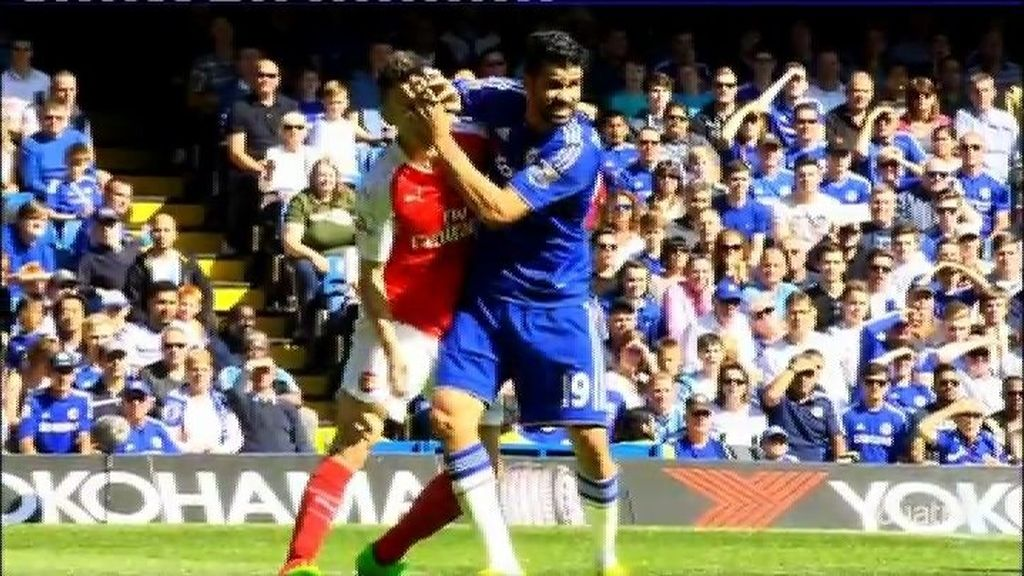 Diego Costa y Mourinho la vuelven a liar