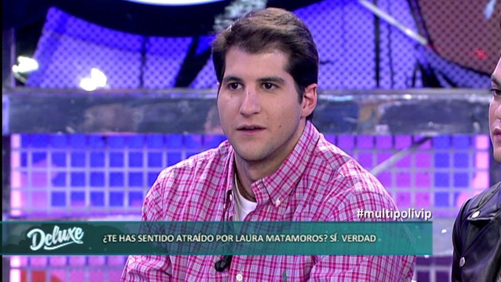 """Julián Contreras se ha sentido atraído por Laura Matamoros: """"Es bellísima"""""""