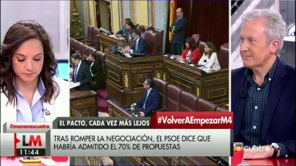 """Sara Hernández (PSOE): """"Este acuerdo está bloqueado por Podemos"""""""