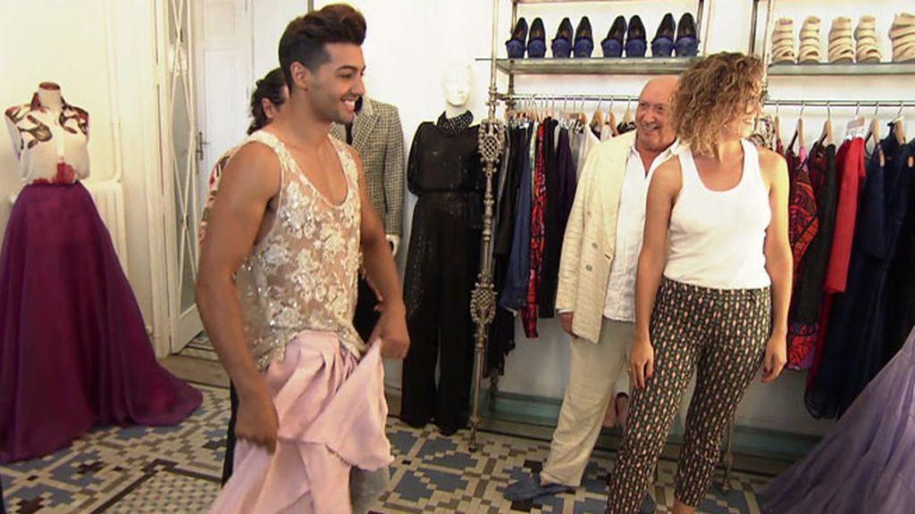"""Jorge: """"Si Cayetano es imagen de Armani, yo puedo serlo de Francis"""""""