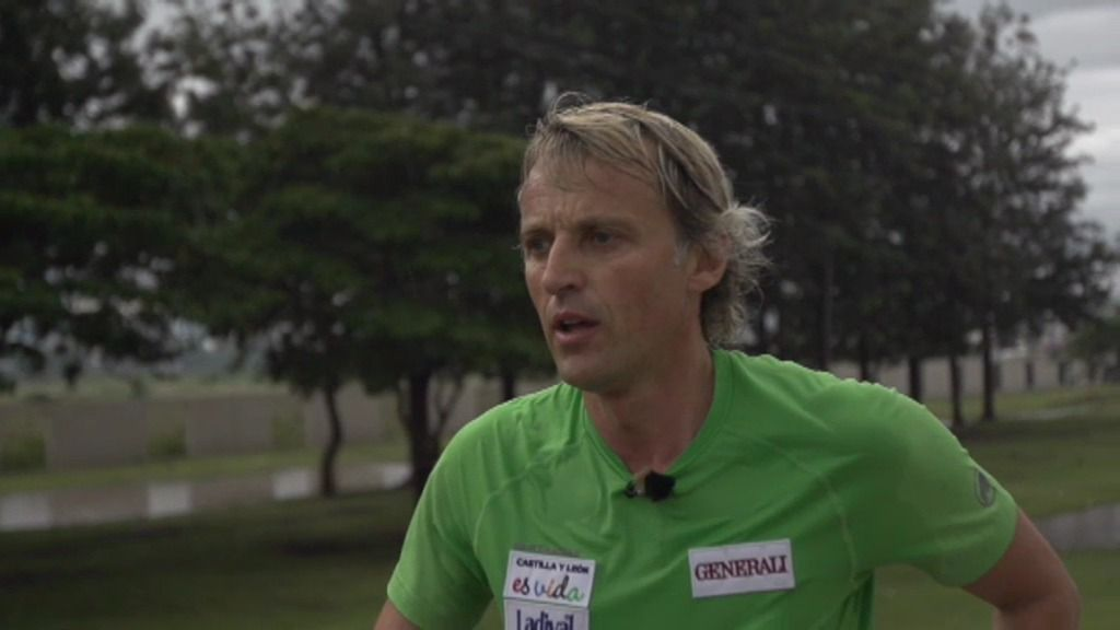 Salida de la maratón de Awassa