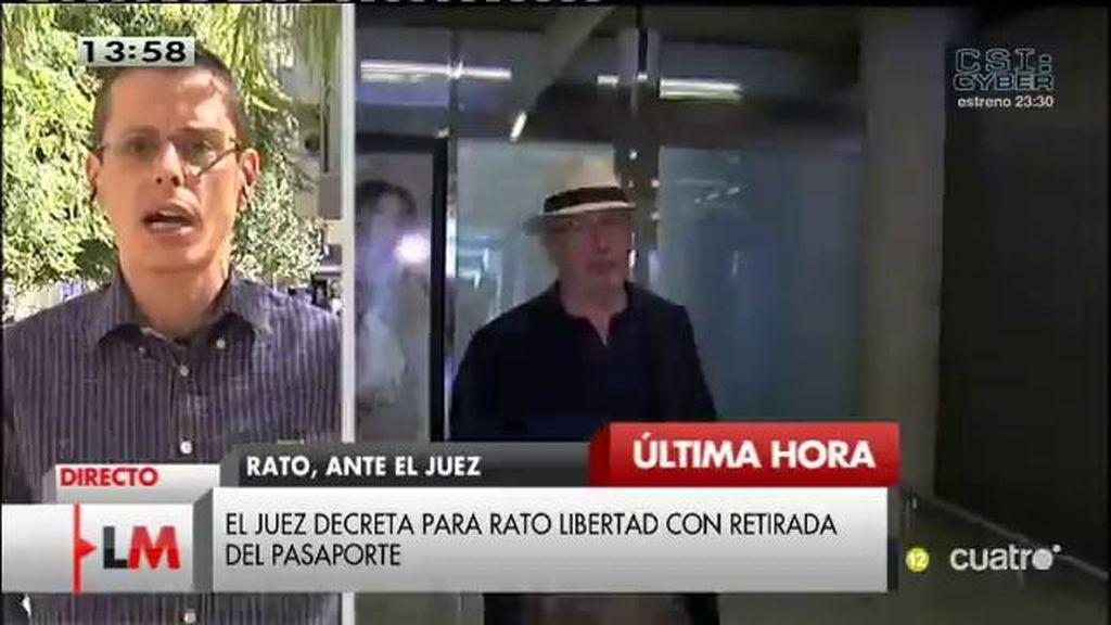 """Sergio Salgado, '15m pa rato': """"No pararemos hasta que consigamos cárcel para Rato"""""""