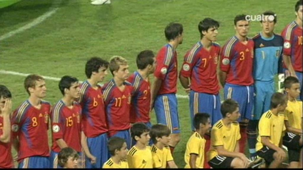 Las caras de la alegría en el España-Irlanda