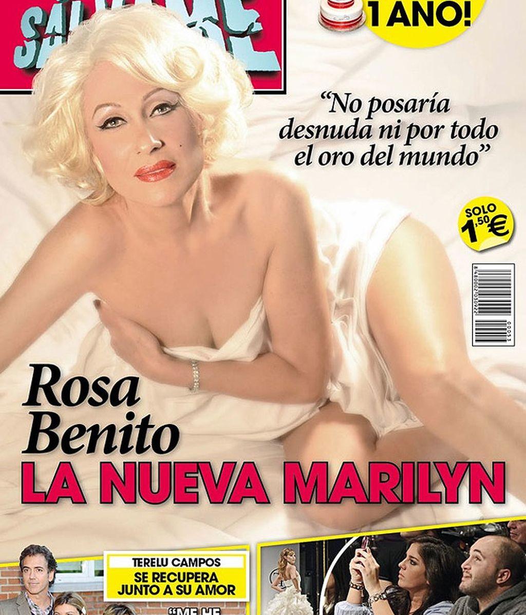 Rosa Benito portada Revista Sálvame
