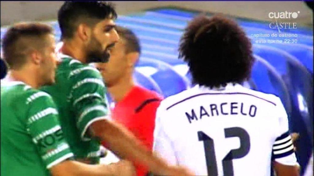 """Un jugador del Cornellá a Marcelo por su celebración: """"No es el gol de la Champions"""""""