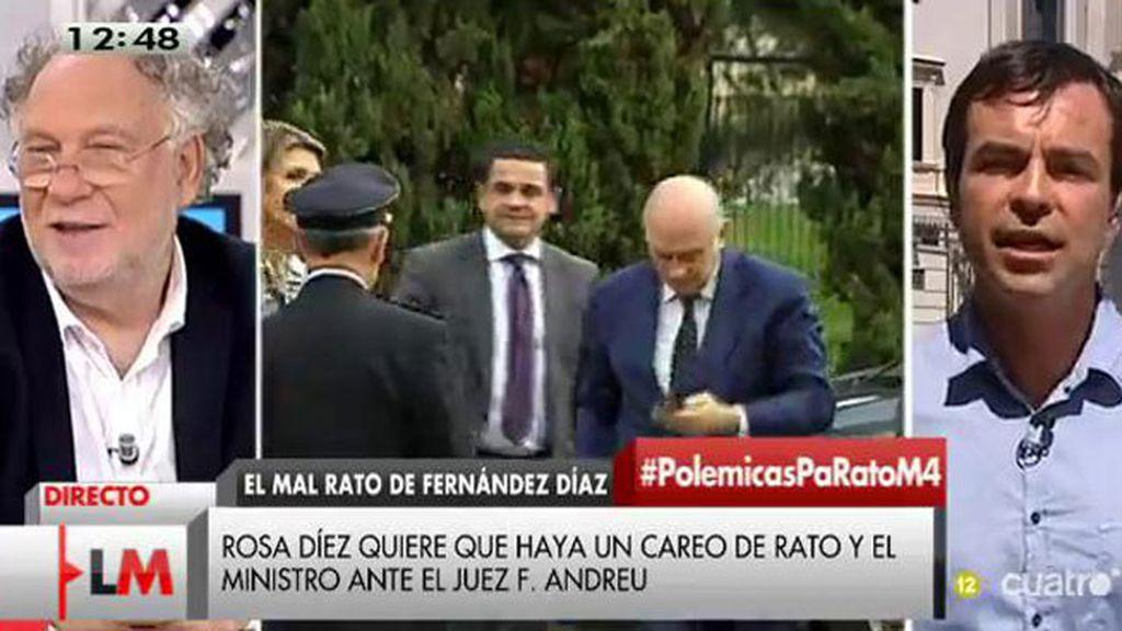"""Andrés Herzog, portavoz de UPyD: """"Tenemos derecho a un Gobierno que no nos mienta"""""""