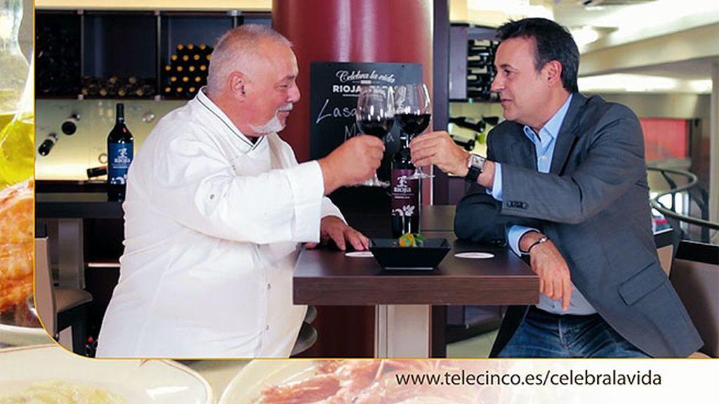 Lasaña de morcilla y Rioja en 'Lavinia'