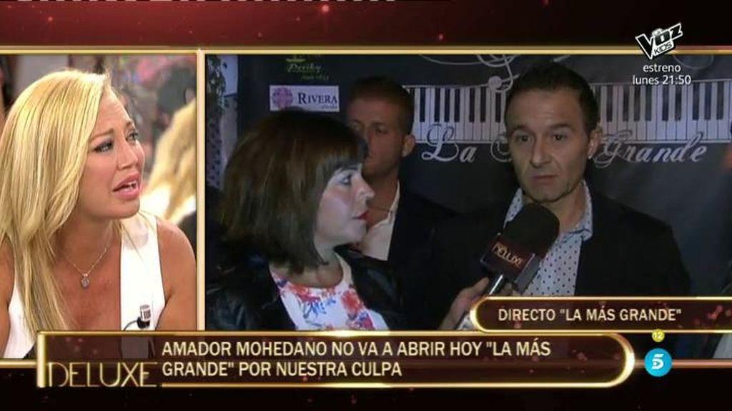 """Amador decide no abrir su discoteca """"porque Sálvame acosa a sus clientes"""""""