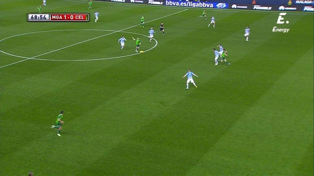 ¡Gol anulado a Charles por fuera de juego que no era y Larrivey le da la razón al árbitro!