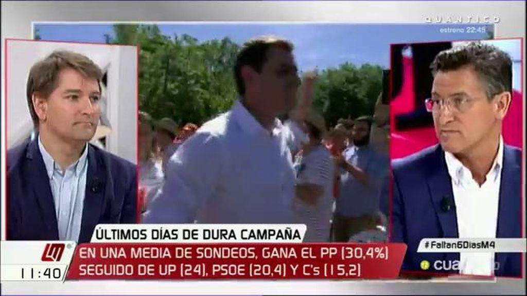 """Luis Salvador (C's): """"Polarizar la sociedad española significa dividirla, crisparla"""""""