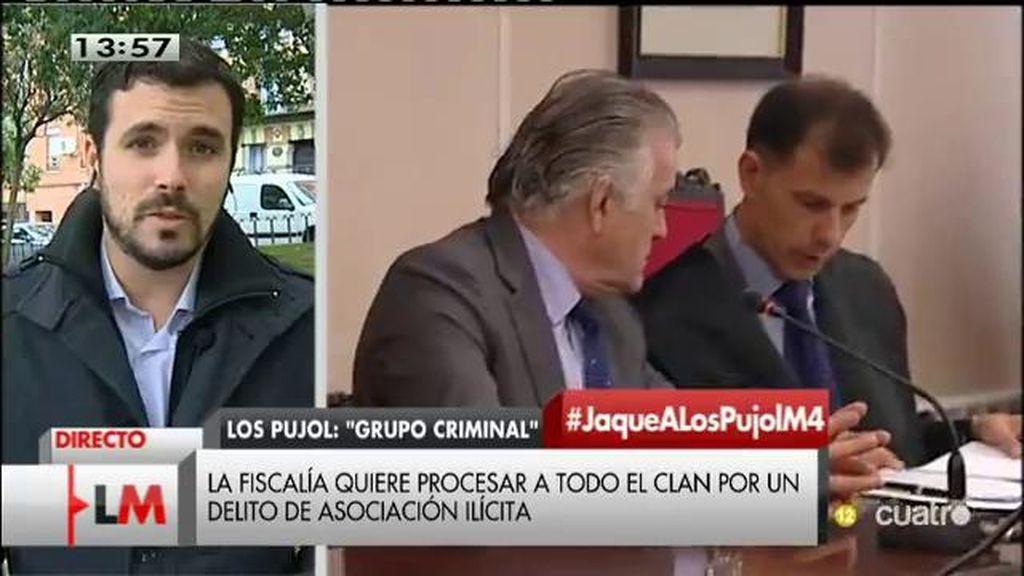"""A. Garzón, de los Pujol: """"Es más que una familia, es una estructura de la que se han aprovechado para el saqueo de las cuentas"""""""