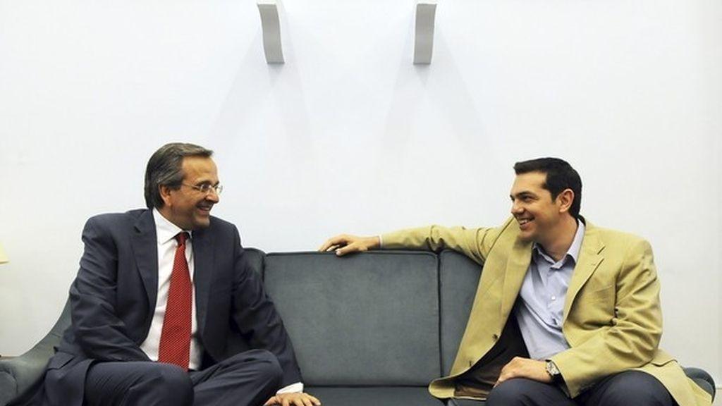Samarás y Tsipras no alcanza un acuerdo de Gobierno