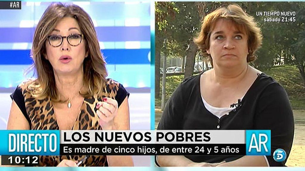 """Mayte Salcedo: """"Tengo que decir a mis hijos a todo que no"""""""