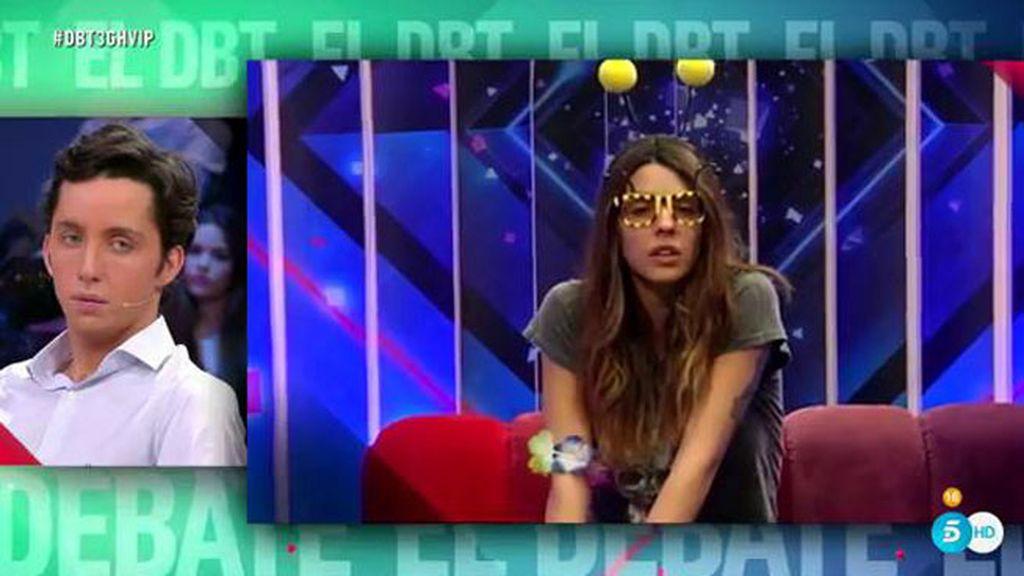 """Laura Matamoros, a Raquel Bollo: """"Javier es buena persona, pero está jugando"""""""
