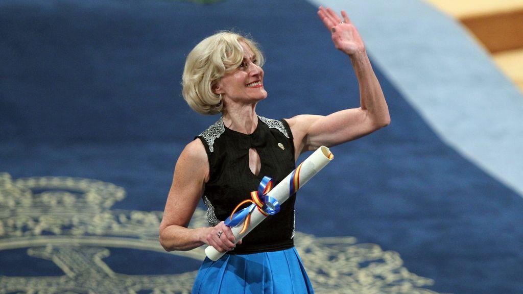 Martha Craven Nussbaum, tras la recogida del Premio Príncipe de Asturias de Ciencias Sociales