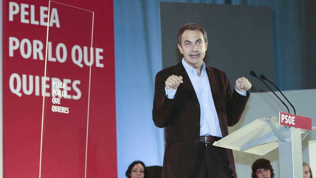 Zapatero, en un mitin en Lugo
