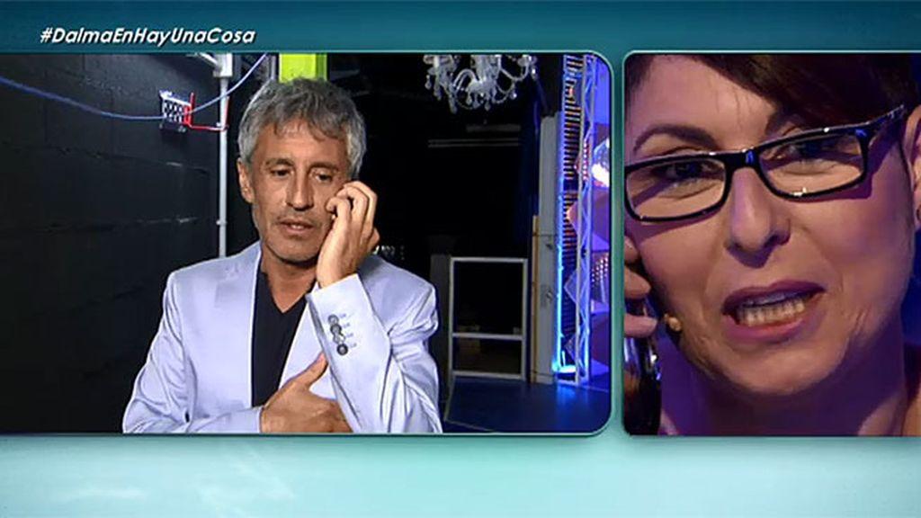 Sergio Dalma, un comercial telefónico irreconocible
