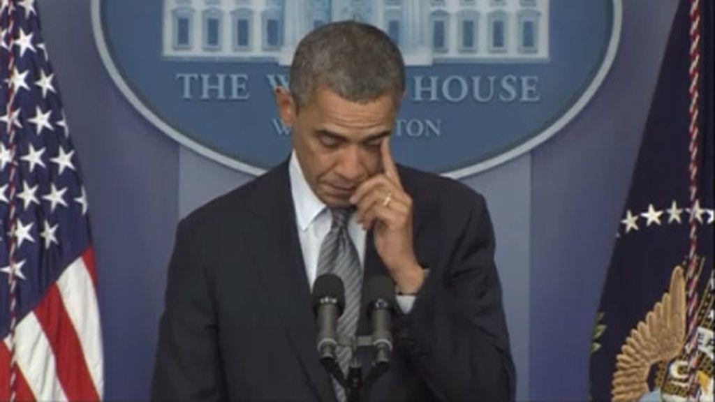 Obama se queda sin palabras tras la masacre de Connecticut