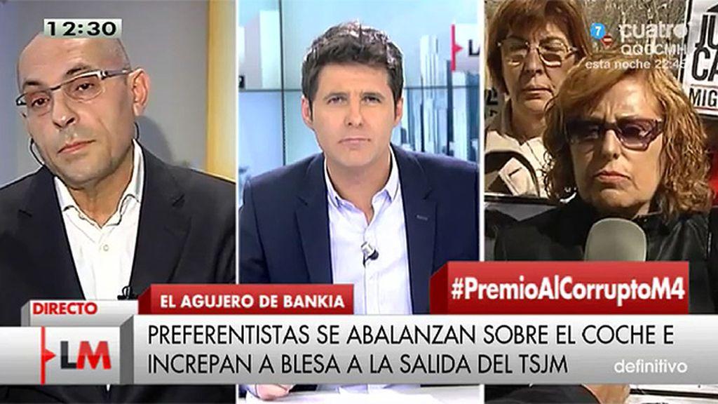 """E. Silva: """"Con los correos en la mano, Caja Madrid era una organización criminal"""""""