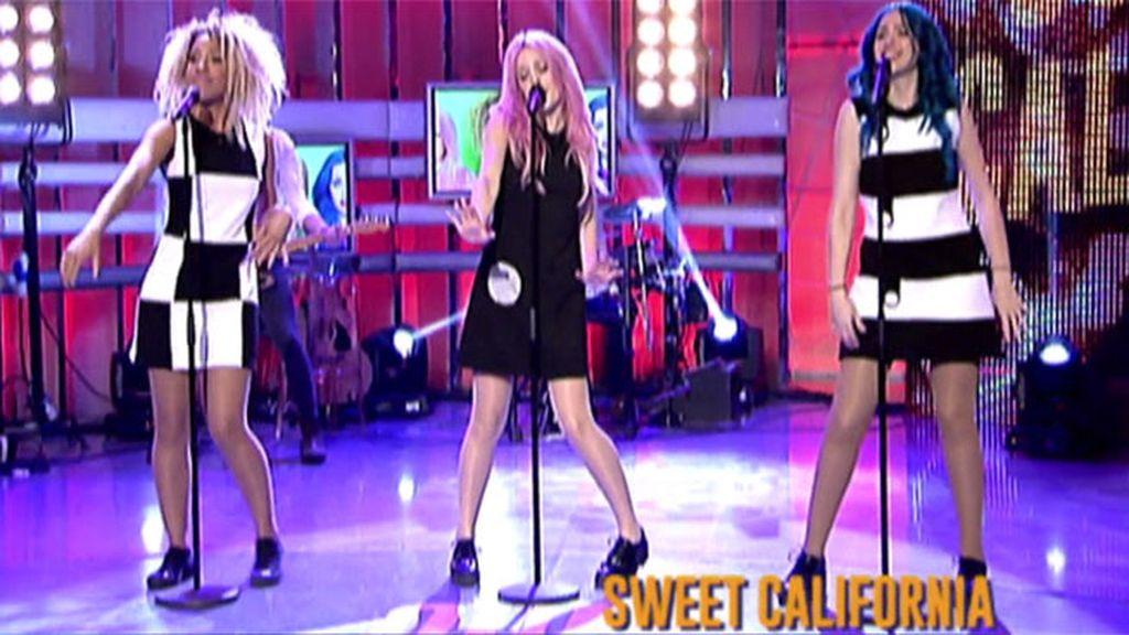 'Sweet California' interpreta 'Good loving' con su nueva integrante, Tamy, en 'QTTF'
