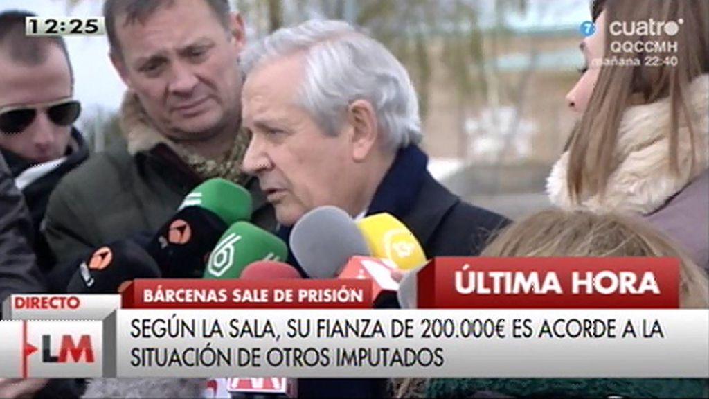 """Gómez de Liaño, sobre la libertad bajo fianza de Bárcenas: """"Sienta un precedente"""""""