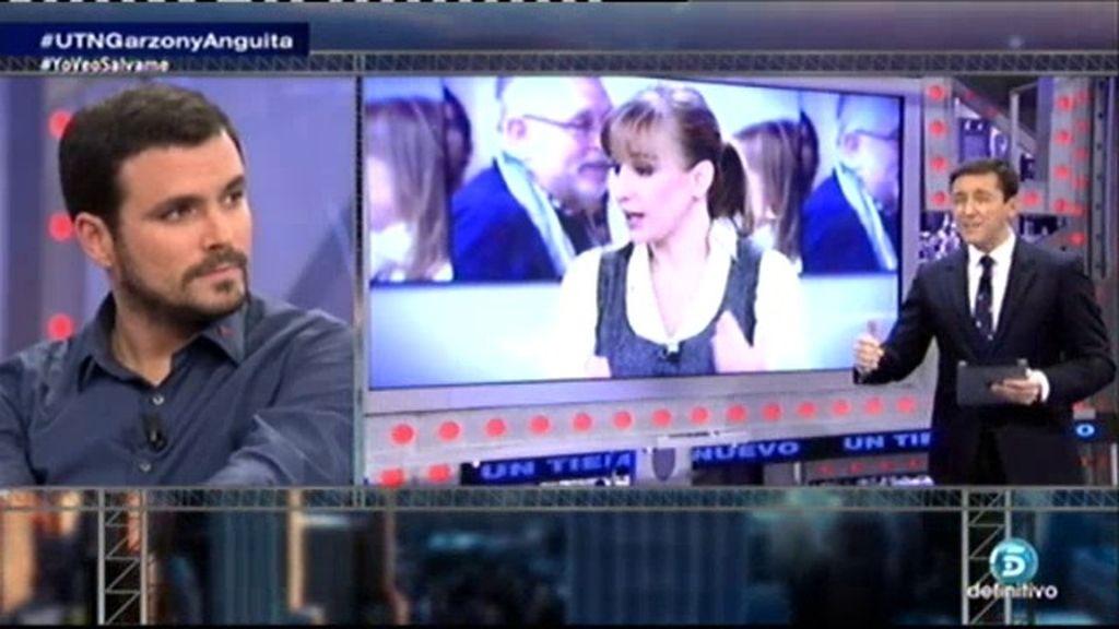 """A. Garzón: """"Quieren acabar con T. Sánchez porque va a ser la Presidenta de Madrid"""""""