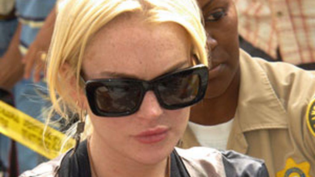 Lindsay Lohan en una imagen de archivo. Foto: GTres