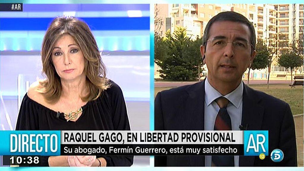 """F. Guerrero, abogado de Gago: """"Raquel es víctima de un cúmulo de circunstancias"""""""