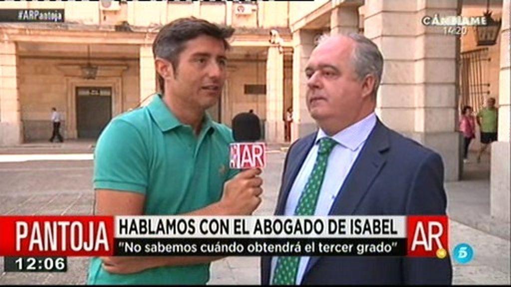 """El abogado de Pantoja: """"Es desproporcionado. Ni tiene privilegios ni los necesita"""""""