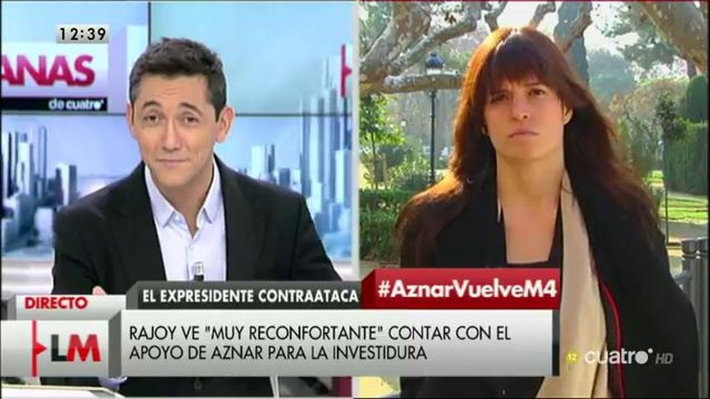 """Elena Costas: """"Es complicado ver hasta qué punto los partidos están dispuestos a cruzar sus líneas rojas"""""""