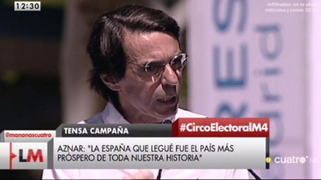 Analizamos el discurso de Aznar