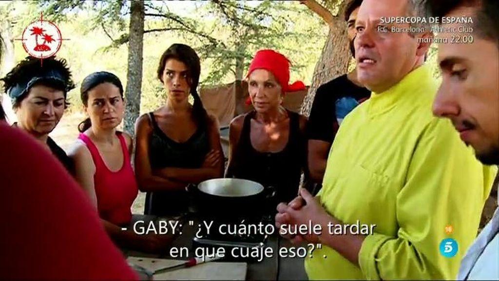 La misión semanal: los aspirantes a la isla aprenden a hacer queso