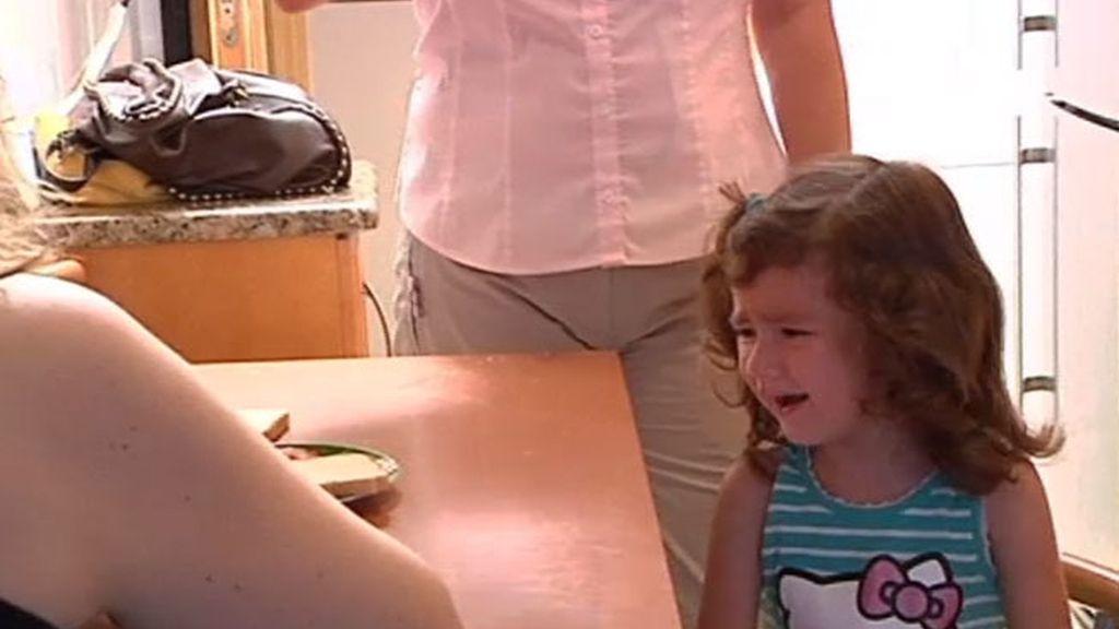 Carla, una niña con mucho carácter
