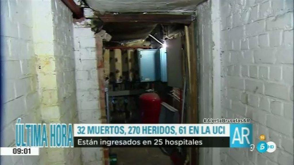 Así es el lugar donde los terroristas prepararon los explosivos para los atentados