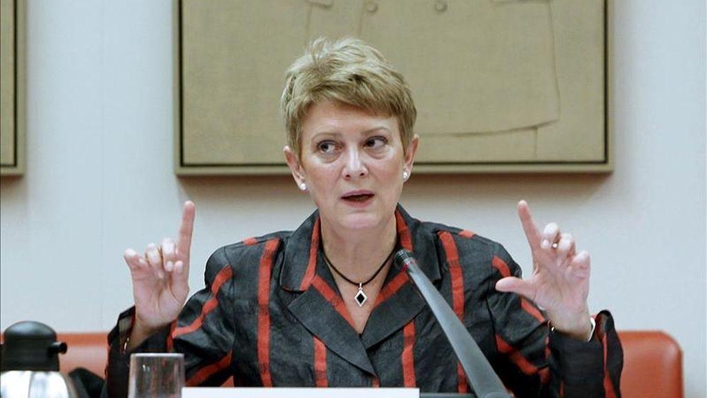 La secretaria de Estado para la Función Pública, Consuelo Rumí. EFE/Archivo
